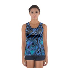 Unique Abstract Mix 1b Women s Sport Tank Top