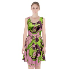Abstract Art Racerback Midi Dress