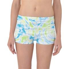 Abstract Art Boyleg Bikini Bottoms