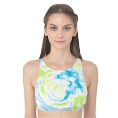 Abstract art Tank Bikini Top