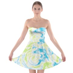 Abstract art Strapless Bra Top Dress
