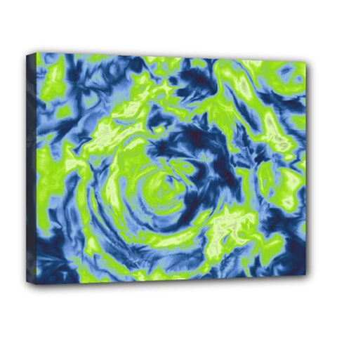 Abstract art Canvas 14  x 11