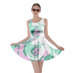 Abstract art Skater Dress