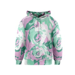 Abstract art Kids  Zipper Hoodie