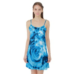 Abstract art Satin Night Slip