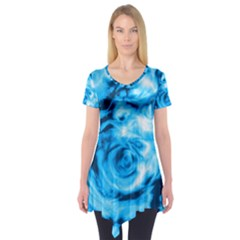 Abstract art Short Sleeve Tunic