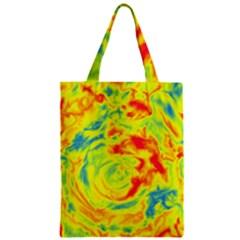 Abstract art Zipper Classic Tote Bag