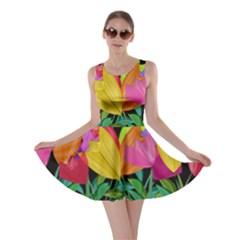Tulips Skater Dress