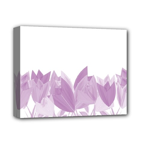 Tulips Deluxe Canvas 14  x 11