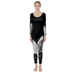 Tulips Long Sleeve Catsuit
