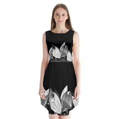 Tulips Sleeveless Chiffon Dress