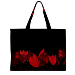 Tulips Zipper Mini Tote Bag