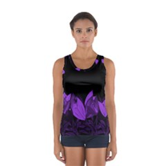 Tulips Women s Sport Tank Top
