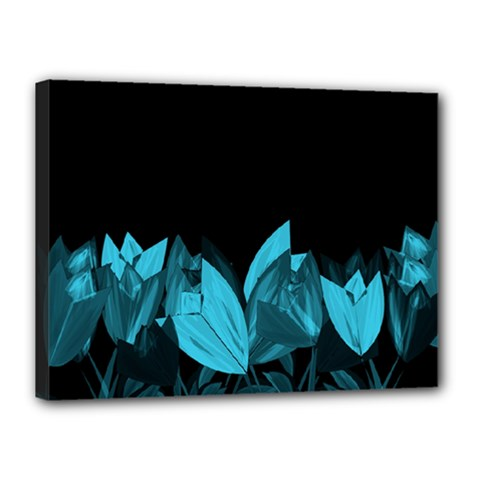 Tulips Canvas 16  x 12