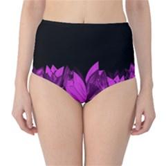 Tulips High-Waist Bikini Bottoms