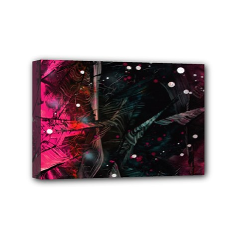 Abstract design Mini Canvas 6  x 4