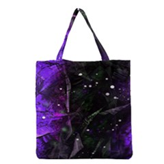Abstract Design Grocery Tote Bag