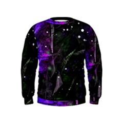 Abstract design Kids  Sweatshirt