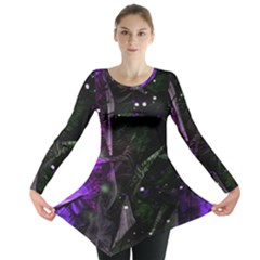 Abstract design Long Sleeve Tunic