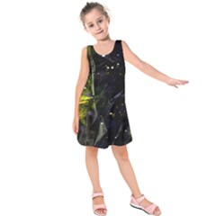 Abstract design Kids  Sleeveless Dress