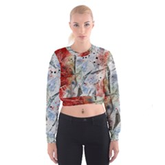 Abstract design Cropped Sweatshirt