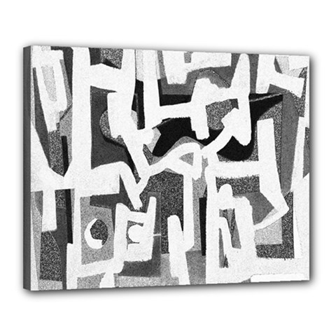 Abstract art Canvas 20  x 16