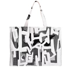 Abstract art Large Tote Bag