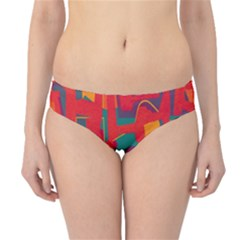 Abstract art Hipster Bikini Bottoms