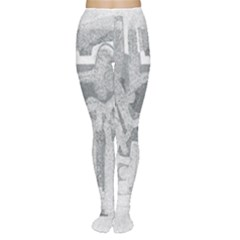 Abstract art Women s Tights