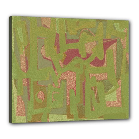 Abstract art Canvas 24  x 20