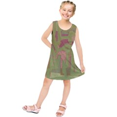 Abstract Art Kids  Tunic Dress