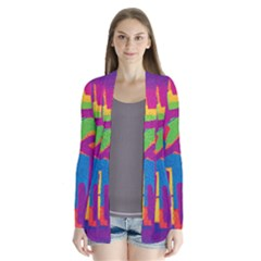 Abstract art Cardigans