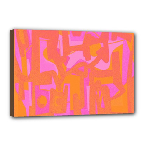 Abstract art Canvas 18  x 12