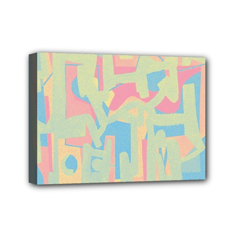 Abstract art Mini Canvas 7  x 5