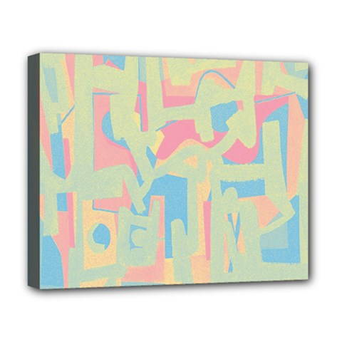 Abstract art Deluxe Canvas 20  x 16