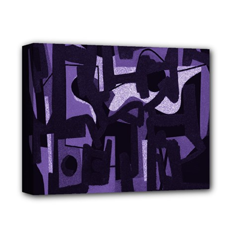 Abstract art Deluxe Canvas 14  x 11