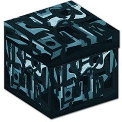 Abstract art Storage Stool 12