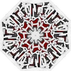 Abstract art Folding Umbrellas