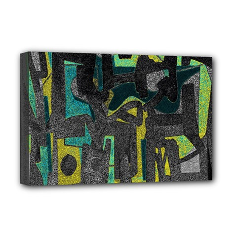Abstract art Deluxe Canvas 18  x 12