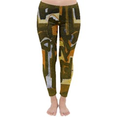 Abstract art Classic Winter Leggings