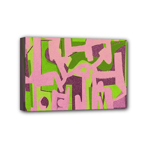 Abstract art Mini Canvas 6  x 4