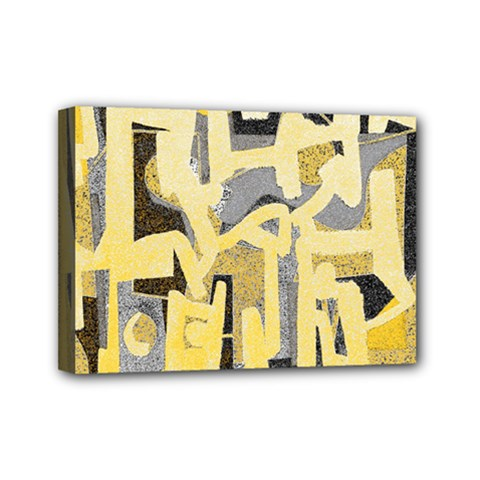 Abstract art Mini Canvas 7  x 5