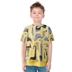 Abstract art Kids  Cotton Tee