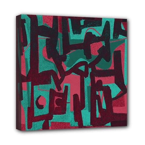 Abstract art Mini Canvas 8  x 8