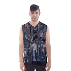 Abstract art Men s Basketball Tank Top