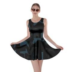 Abstract art Skater Dress
