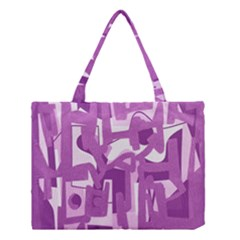 Abstract art Medium Tote Bag
