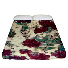 Floral Dreams 10 Fitted Sheet (King Size)
