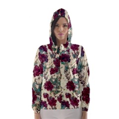 Floral Dreams 10 Hooded Wind Breaker (Women)