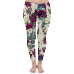 Floral Dreams 10 Classic Winter Leggings